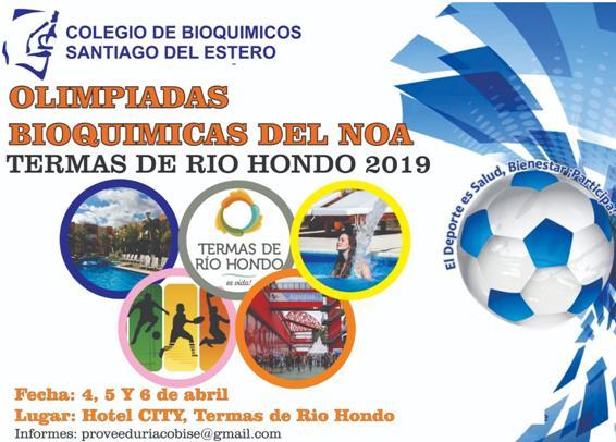 Olimpiadas Bioquímicas del NOA 2019